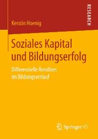 Cover Soziales Kapital und Bildungserfolg