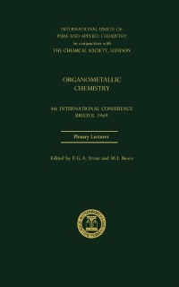 Cover Organometallic Chemistry