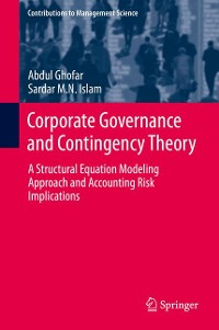 Cover Corporate Governance and Contingency Theory