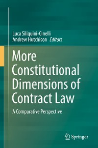 Cover More Constitutional Dimensions of Contract Law