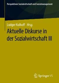 Cover Aktuelle Diskurse in der Sozialwirtschaft III