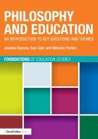 Cover Philosophy and Education