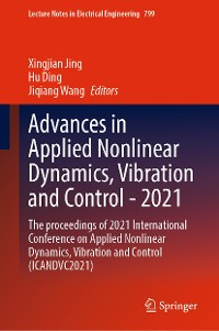 Cover Advances in Applied Nonlinear Dynamics, Vibration and Control -2021