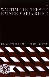 Cover Wartime Letters of Rainer Maria Rilke