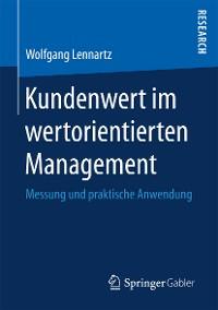 Cover Kundenwert im wertorientierten Management