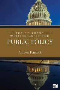 Cover The CQ Press Writing Guide for Public Policy
