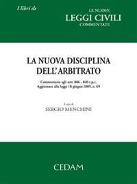 Cover La nuova disciplina dell'arbitrato