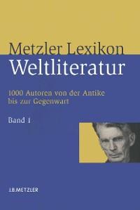 Cover Metzler Lexikon Weltliteratur
