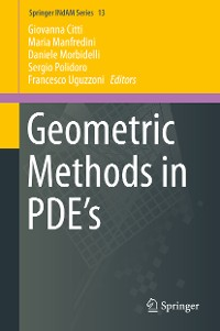 Cover Geometric Methods in PDE's