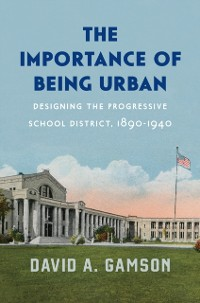 Cover Importance of Being Urban