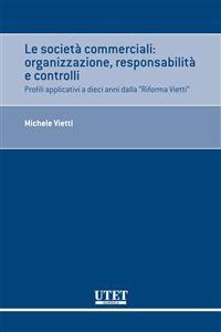 Cover Le società commerciali: organizzazione, responsabilità e controlli