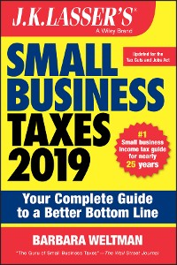 Cover J.K. Lasser's Small Business Taxes 2019