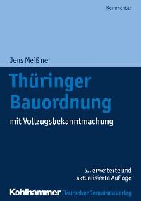 Cover Thüringer Bauordnung