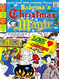 Cover Sabrina's Christmas Magic (2014), Issue 1