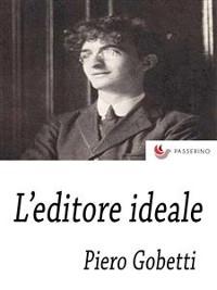 Cover L'Editore ideale