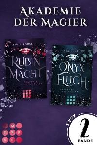 Cover Akademie der Magier. Sammelband der mitreißenden Romantasy-Serie  (Akademie der Magier)
