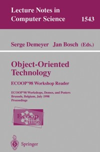 Cover Object-Oriented Technology. ECOOP '98 Workshop Reader