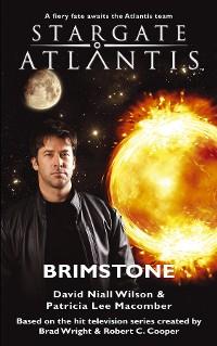 Cover STARGATE ATLANTIS Brimstone