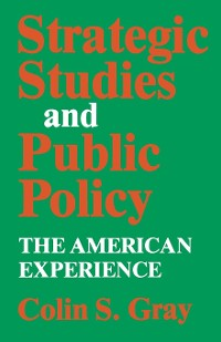 Cover Strategic Studies and Public Policy