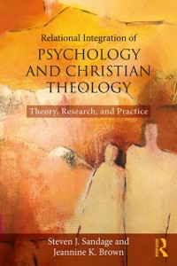 Cover Relational Integration of Psychology and Christian Theology