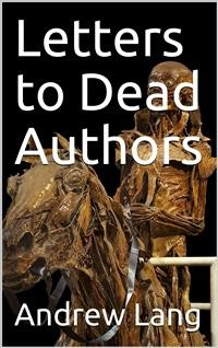 Cover Letters to Dead Authors