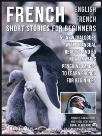 Cover French Short Stories for Beginners - English French