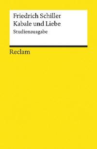 Cover Kabale und Liebe. Studienausgabe