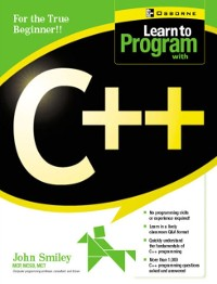 Cover Learn to Program with C++
