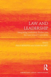 Cover Law and Leadership