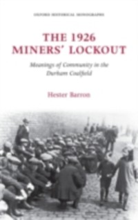 Cover 1926 Miners' Lockout