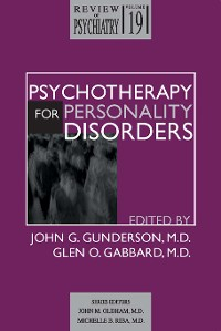 Cover Psychotherapy for Personality Disorders