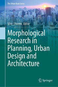 Cover Morphological Research in Planning, Urban Design and Architecture
