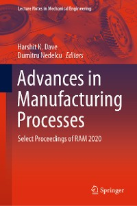 Cover Advances in Manufacturing Processes