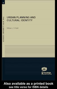 Cover Urban Planning and Cultural Identity