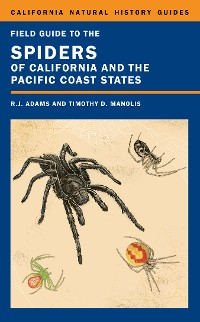 Cover Field Guide to the Spiders of California and the Pacific Coast States