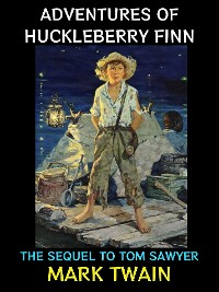 Cover Adventures of Huckleberry Finn.