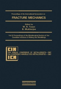 Cover Proceedings of the Metallurgical Society of the Canadian Institute of Mining and Metallurgy