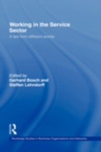 Cover Working in the Service Sector