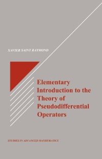 Cover Elementary Introduction to the Theory of Pseudodifferential Operators