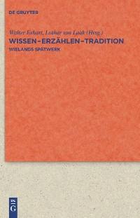 Cover Wissen - Erzählen - Tradition