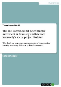 Cover The anti-constitutional Reichsbürger movement in Germany and Michael Kurzwelly's social project Słubfurt