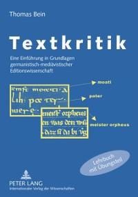 Cover Textkritik
