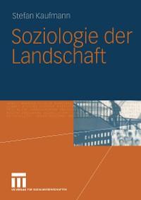 Cover Soziologie der Landschaft
