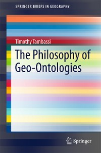 Cover The Philosophy of Geo-Ontologies