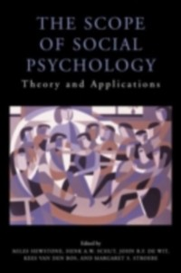 Cover Scope of Social Psychology