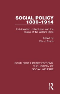 Cover Social Policy 1830-1914