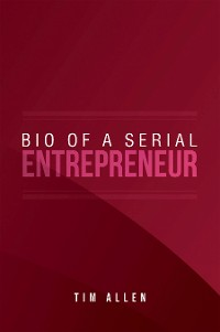 Cover Bio  of  a Serial Entrepreneur