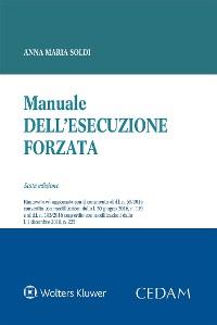 Cover Manuale dell'esecuzione forzata