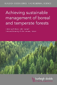 Cover Achieving sustainable management of boreal and temperate forests