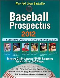 Cover Baseball Prospectus 2012